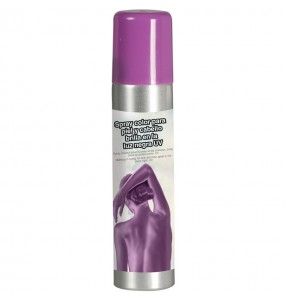 Spray Maquillage corps violet