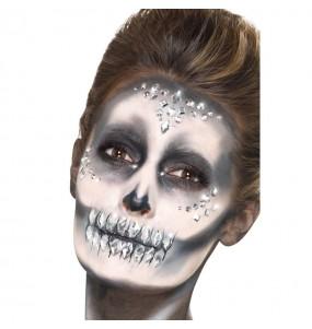 Maquillage Bijoux en Argent pour le visage
