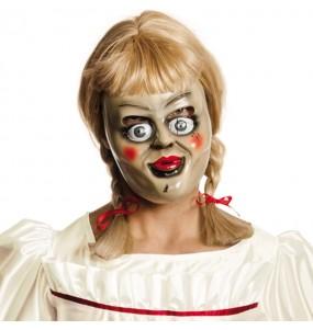 Masque Annabelle avec perruque