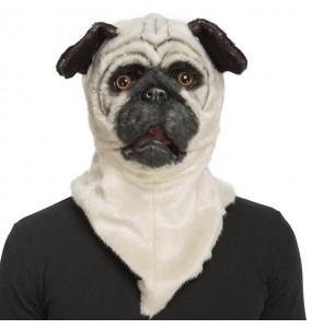 Masque Chien Bulldog avec bouche articulée
