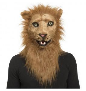 Masque Lion avec bouche articulée