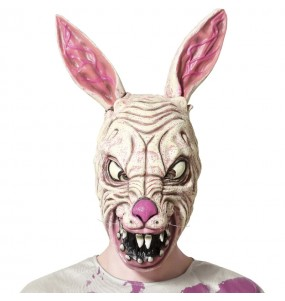Masque de lapin zombie