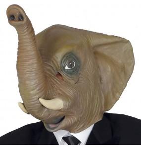 Masque Éléphant en Latex