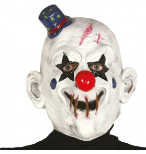 Masque clown assassin en latex