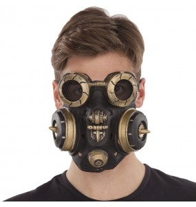Masque Steampunk Anti-gaz