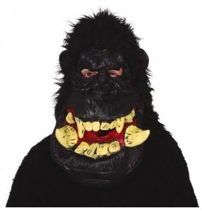 Masque gorille géant avec poils