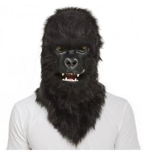 Masque Gorille King Kong avec bouche articulée