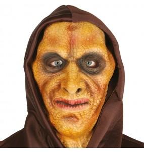 Masque Homme Lézard avec capuche