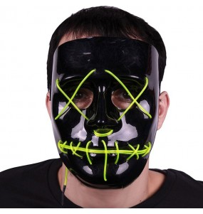 Masque American Nightmare avec lumières