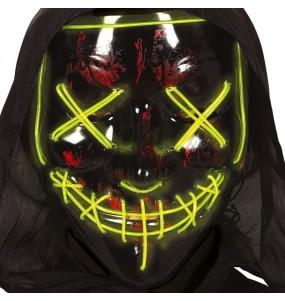 Masque The Purge avec lumière