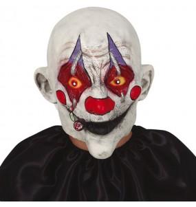 Masque Clown tueur avec cigarette
