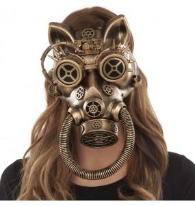 Masque Steampunk Félin