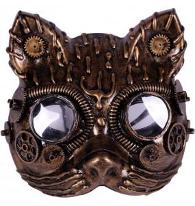 Masque Steampunk Chat