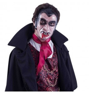 Masque Vampire visage transparent