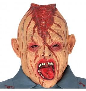 Masque Zombie Tête Ouverte en latex