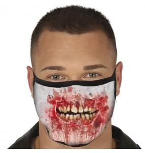 Masque de protection Bouche Zombie pour adultes