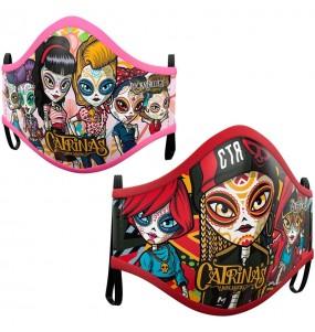 Masque de protection Catrinas Underworld pour adultes