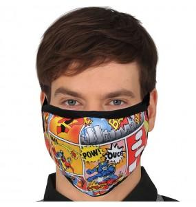 Masque de protection Bande Dessinée pour adultes