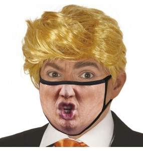 Masque de protection Donald Trump pour adultes