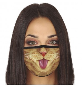 Masque de protection Chat pour adultes