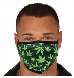 Masque de protection Cannabis pour adultes