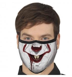 Masque de protection Clown IT Pennywise pour adultes