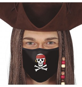 Masque de protection Pirate pour adultes