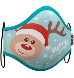 Masque de protection Renne Noël pour adultes