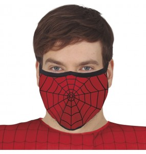 Masque de protection Spiderman pour adultes