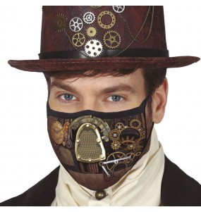 Masque de protection Steampunk pour adultes