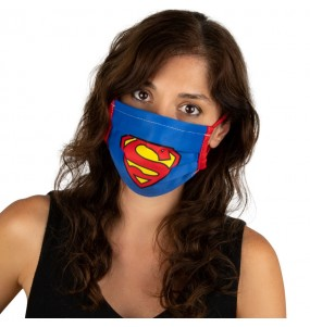Masque de protection Superman pour adultes
