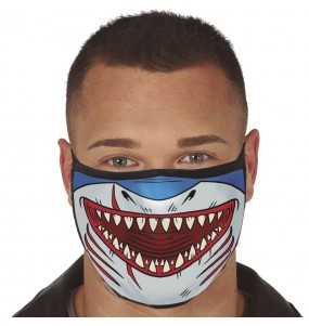 Masque de protection Requin pour adultes