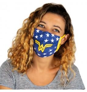 Masque de protection Wonder Woman pour adultes