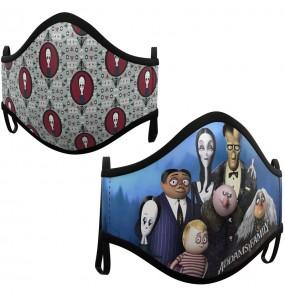 Masque de protection La Famille Addams pour enfant