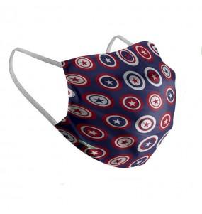 Masque de protection Captain America pour enfant