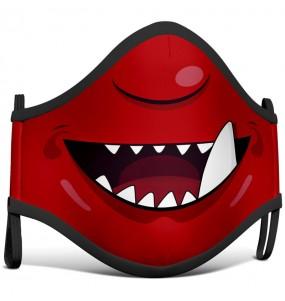 Masque de protection Démon Cartoon pour enfant