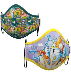 Masque de protection Kid Kazoom SuperZings pour enfant