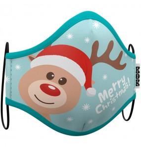 Masque de protection Renne Noël pour enfant