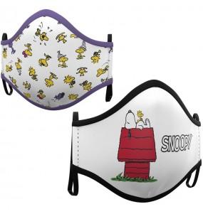Masque de protection Snoopy House pour enfant