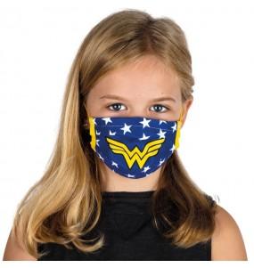 Masque de protection Wonder Woman pour enfant