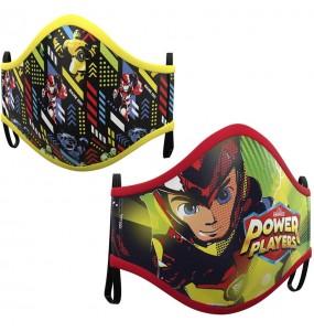 Masque de protection Power Players pour enfant