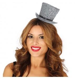 Mini Chapeau Argent