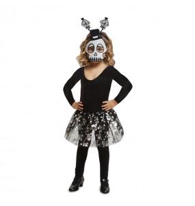 Déguisement Squelette Tutu Enfant