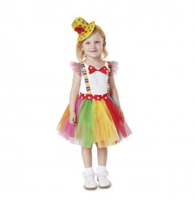 Déguisement Petite Clown Tutu