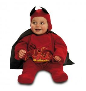 Déguisement Bébé Diable Rouge