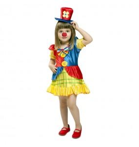 Déguisement Petite Clown