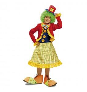 Déguisement Clown Couleurs Fille