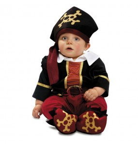 Déguisement Capitain Pirate Bébé