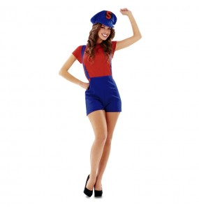 Déguisement Plombière Super Mario