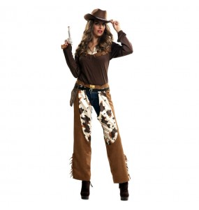 Déguisement Cowgirl Western adulte
